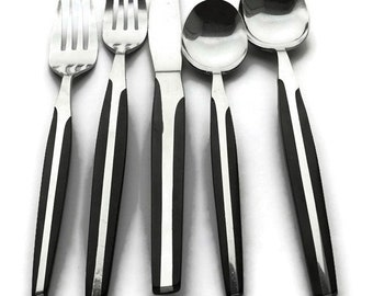 Replacement Eldan ELD2 Stainless Flatware Sold Individually * Black Synthetic Handle