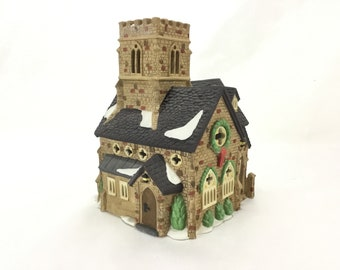 Vintage Dickens Villiage * Department 56 * Knottinghill Church