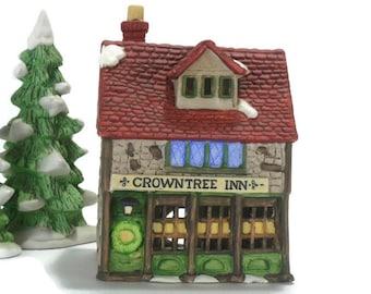 Vintage Dickens Villiage * Department 56 * Crowntree Inn * Original Shops Series