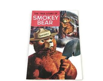 Vintage Smokey the Bear Comic Book   Graphic Novel bcc95bbfd