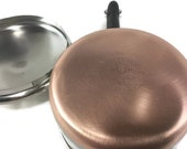 1 Quart Revere Ware Saucepan and Lid Copper and Stainless Cookware Sauce Pan