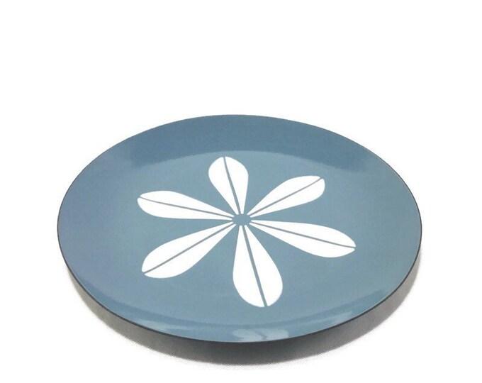 Vintage Cathrineholm White on Blue Lotus Plate