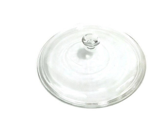 Replacement Pyrex 624 C Lid for 2 Quart Round Casserole * Small Knob * With and Without Rays
