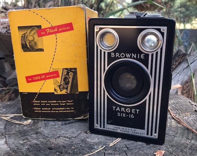Vintage Kodak Brownie Target Six 16 Camera