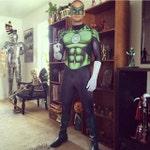 New 52 Style Green Lantern Hal Jordan Bodysuit