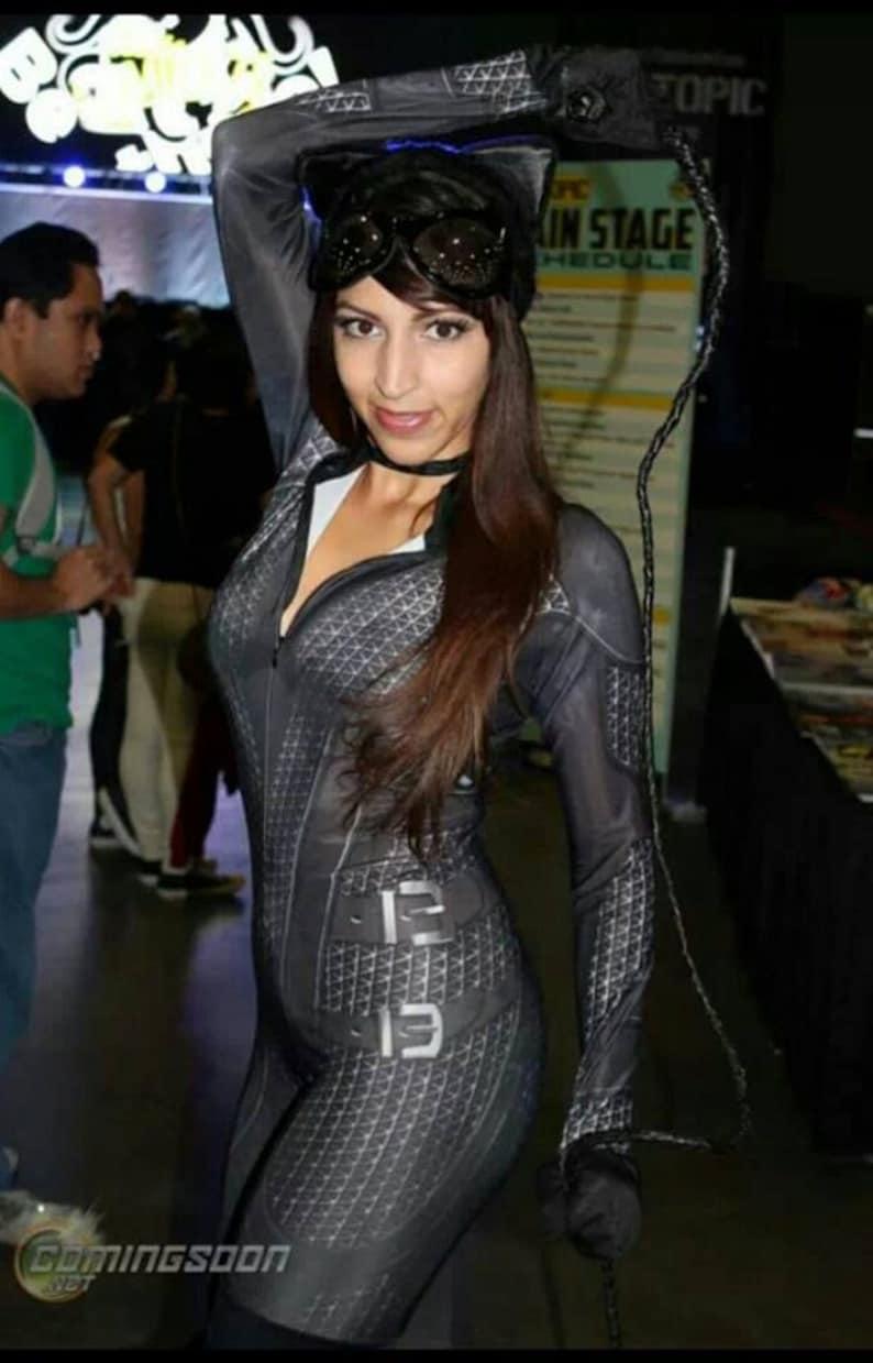 Arkham City Catwoman custom costume cosplay batman ready ...