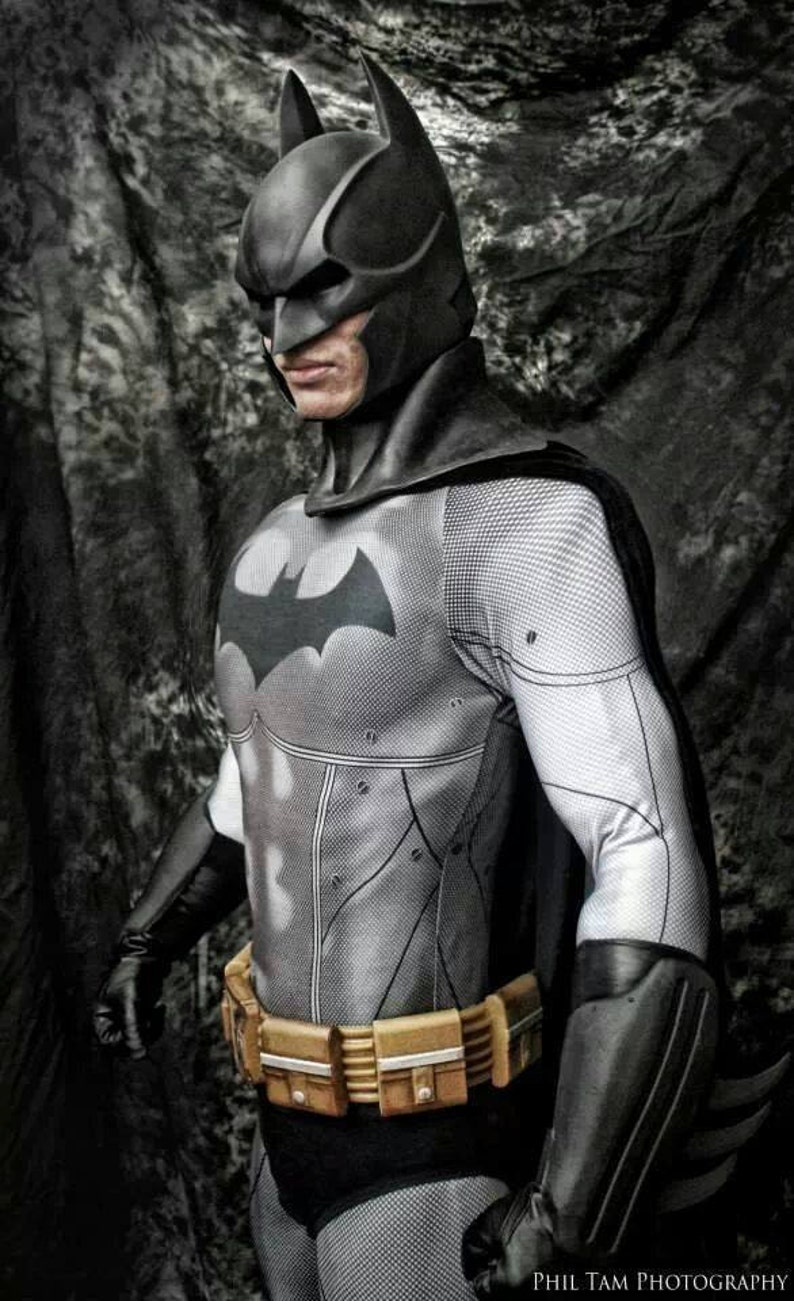 c02a38f480f3 Arkham City Batman Bodysuit