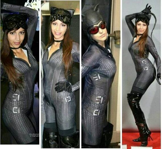 sc 1 st  Etsy & Arkham City Catwoman custom costume cosplay batman ready for