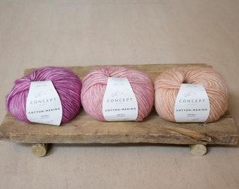 Cotton Merino Katia Concept Knitting Yarn