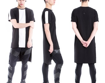 "T-shirt ""Stripe"" black and white"