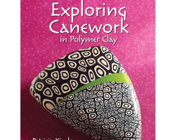 Exploring Canework in polymer clay, by Patricia Kimle tutorial's with step-by-step through a variety of popular cane styles.