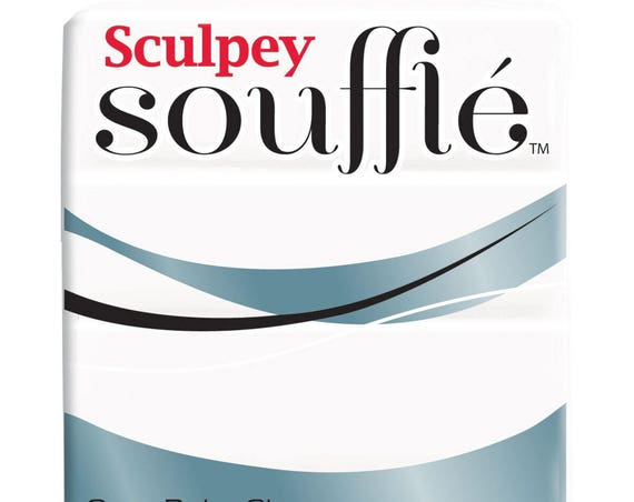 Sculpey Souffle Clay lightweight clay perfect for jewelry making strong and self-supporting and doesn't crack in lg pcs