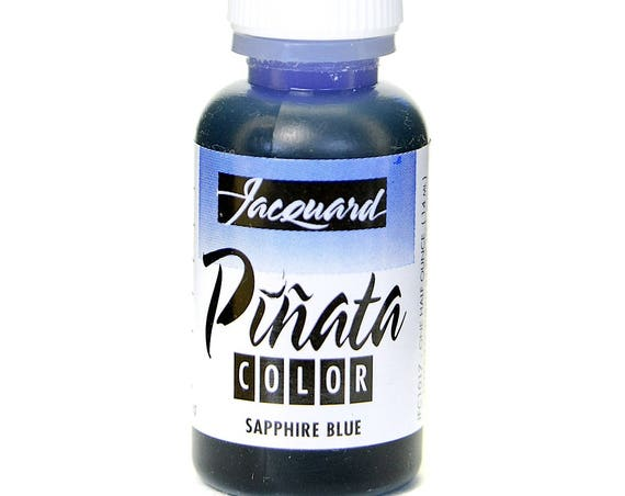 Baja Blue Jacquard Pinata Alcohol Ink alcohol based high vibrancy transparent colors. Perfect for polymer clay & more