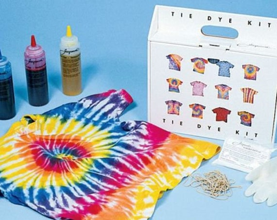 Professional quality tie dye kit by Jacquard for non-synthetic fabric, finally the bright vibrant colors you always wanted.