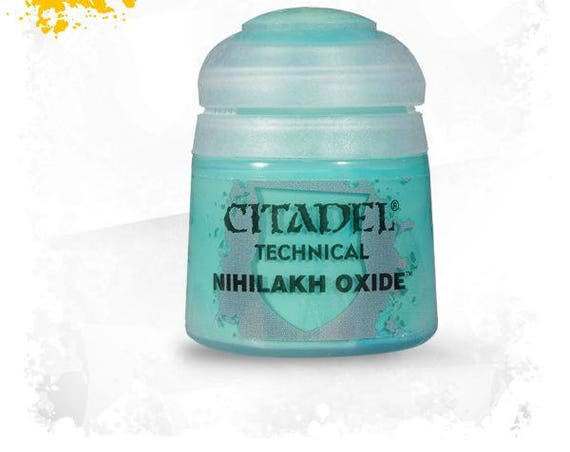 Citadel technical collection acrylic paint for polymer clay, miniature. and steampunk Technical are designed to create unique effects.