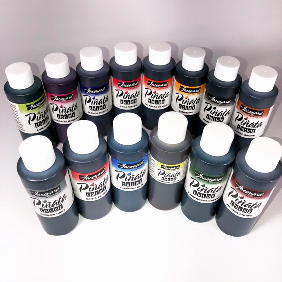 4oz. Jacquard Pinata Alcohol Ink available in a variety of colors alcohol based high vibrancy colors. Perfect for polymer clay and more