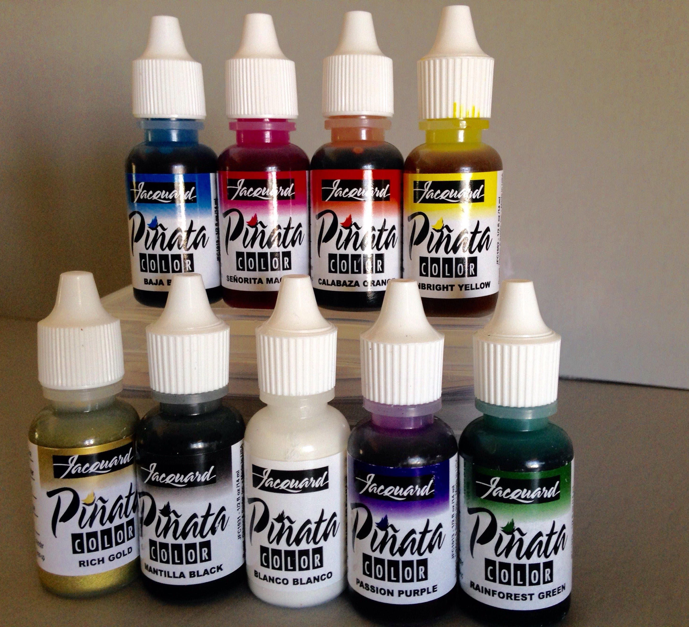 jacquard pinata alcohol ink set exciter 9 pack contains 9 etsy