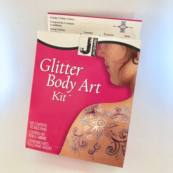 Glitter Body Art Kit by Jacquard