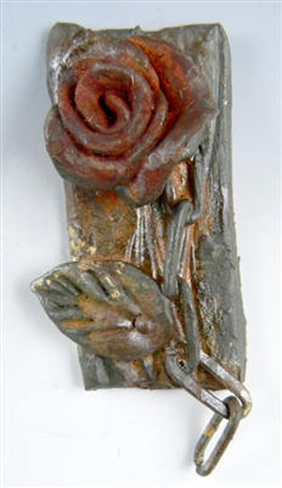 "Swellegant, faux metal patinas kit  ""Rustic Rose""  for use on polymer clay, metal, plaster, resin, wood, ceramic, and more"