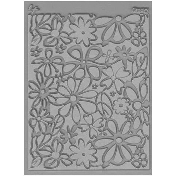 Groovy texture stamp designed by Lisa Pavelka
