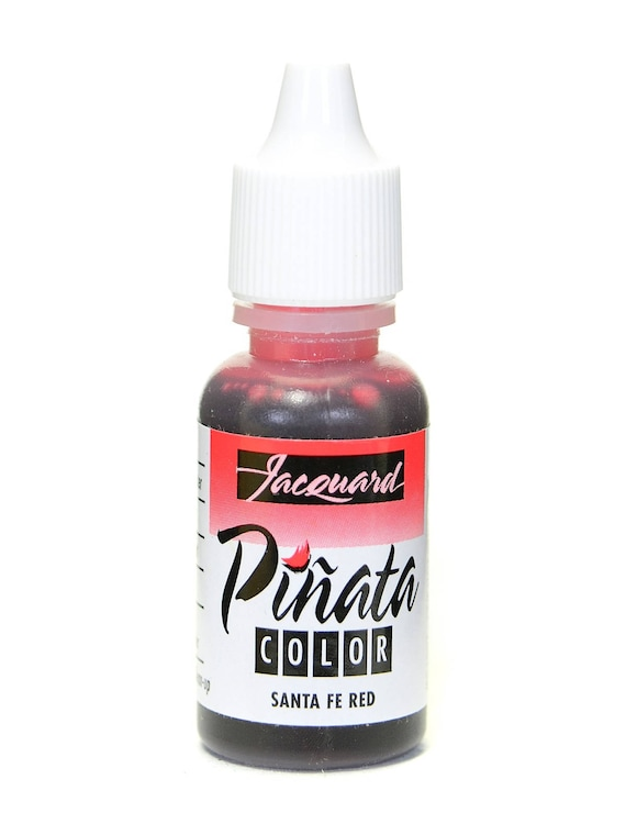 Santa Fe Red Jacquard Pinata Alcohol Ink alcohol based high vibrancy transparent colors. Perfect for polymer clay & more