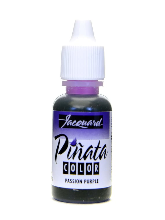 Purple Passion Jacquard Pinata Alcohol Ink alcohol based high vibrancy transparent colors. Perfect for polymer clay & more