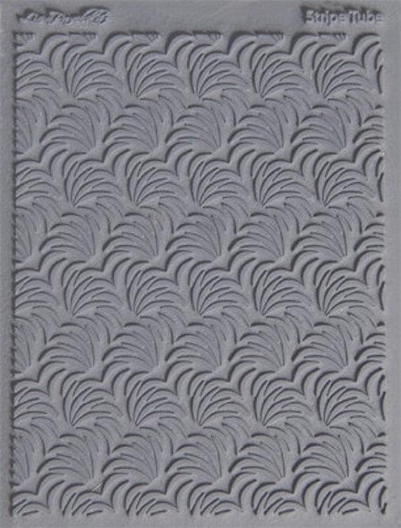 Lisa Pavelka's, Stripe Tube texture stamp