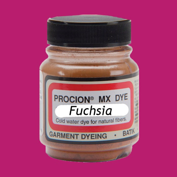 Procion MX Dye, Fuchsia, the most vivid of all dyes for cellulose (natural) fibers by Jacquard