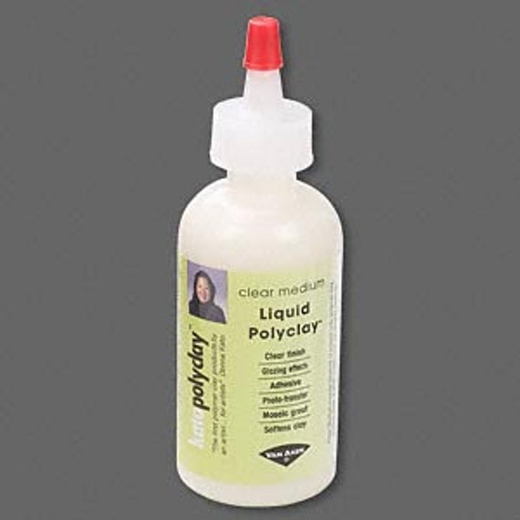 Kato liquid polyclay, clear medium