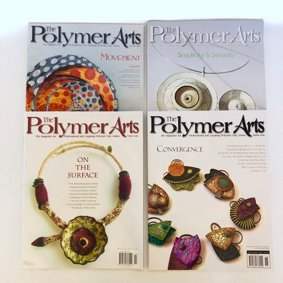 Get all 2016 The Polymer Arts magazine collection, The magazine for professional and aspiring polymer clay artist