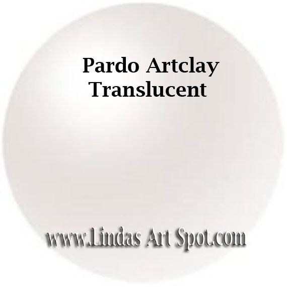 Pardo Translucent 2 oz (56g) bar  -Translucen Professional Art Clay by Viva Decor - make beautiful faux beach glass and more