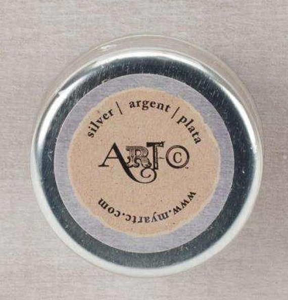 Wax Paste silver Metallic 20ml  Art-C ,beeswax based Metal gloss, professional quality and highly pigmented wax paste