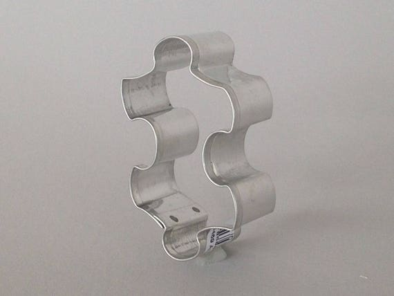 Puzzle piece cookie cutter stainless steel metal cutters for children parties, autism awareness gatherings and pendants