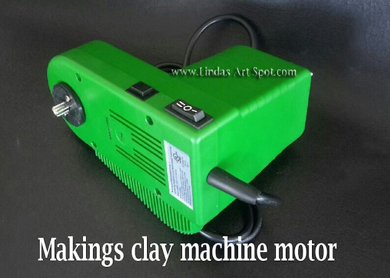 Makin's Ultimate Clay Machine Motor forget hand cranking your pasta machine