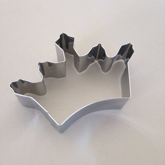 Crown, princess, royal  cookie cutter cookie cutter stainless steel metal cutters