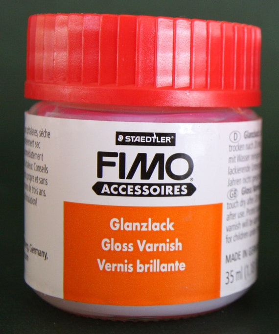 Fimo Gloss Varnish 1.18oz, Staedtler water based varnish