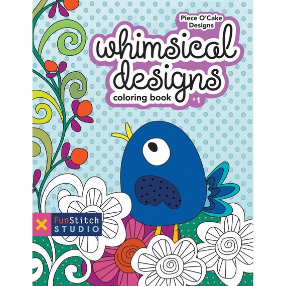 Coloring Book Whimsical designs