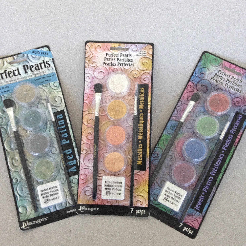 Metallics Ranger Perfect Pearls Embellishment Pigment Kit