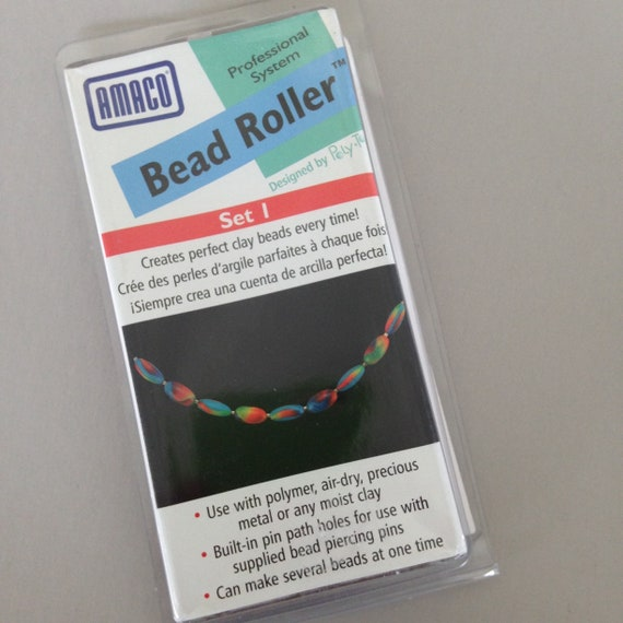 Amaco Bead Roller set 1 Makes a perfect oval beads every time.
