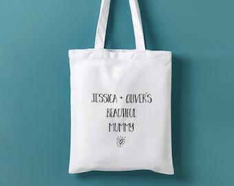 Personalised Mummy Tote Bag - Personalized Mothers Day Gift - Mothers Day Gift - Gift for Mum - Gift for Grandma