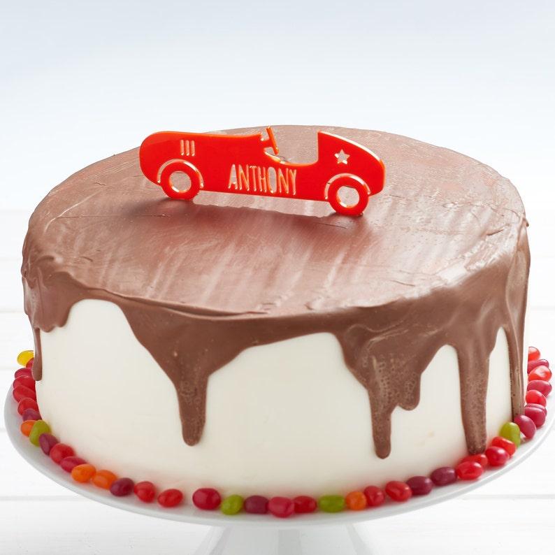 Car Cake Topper Kids Childrens Party Decor
