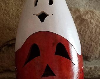 Jack o Lantern luminary lamp gourd.