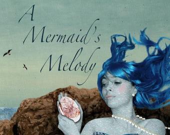 Illustrated Mermaid Book  - A Mermaid's Melody