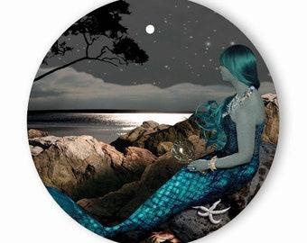 Starry Mermaid - Pocket Mirror