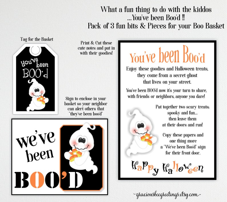 photograph relating to You've Been Booed Printable Pdf named Youve Been Booed Halloween Signs and symptoms, Youve Been Bood Deal, Halloween Tags, Bood Indicator, Youve Been Bood Printable