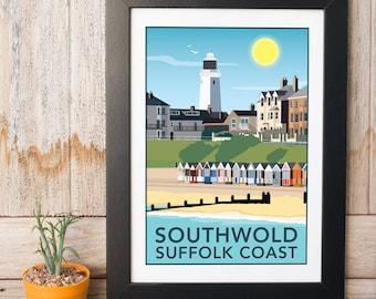 Southwold, Suffolk Coast Print