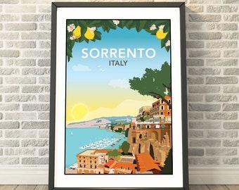 Sorrento, Italy Print by Tabitha Mary