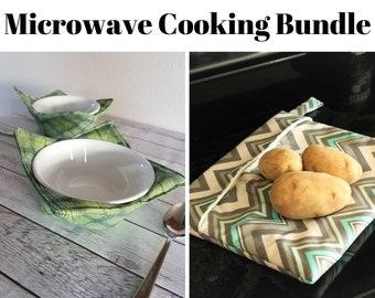 Microwave Cozy Sewing Pattern Bundle | Kitchen Sewing | PDF Sewing Pattern