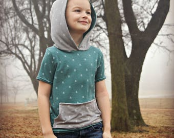 Bowmont Tee PDF Pattern - Sizes 12 month to 12 years