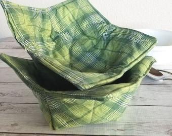 Microwave Bowl Cozy PDF Pattern | Soup Bowl Cozy | Sewing Pattern